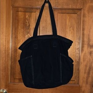 thirty-one Women's Retro Metro Black Tote Bag